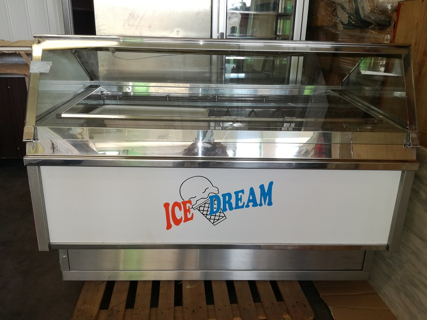 stock attrezzatura gelateria